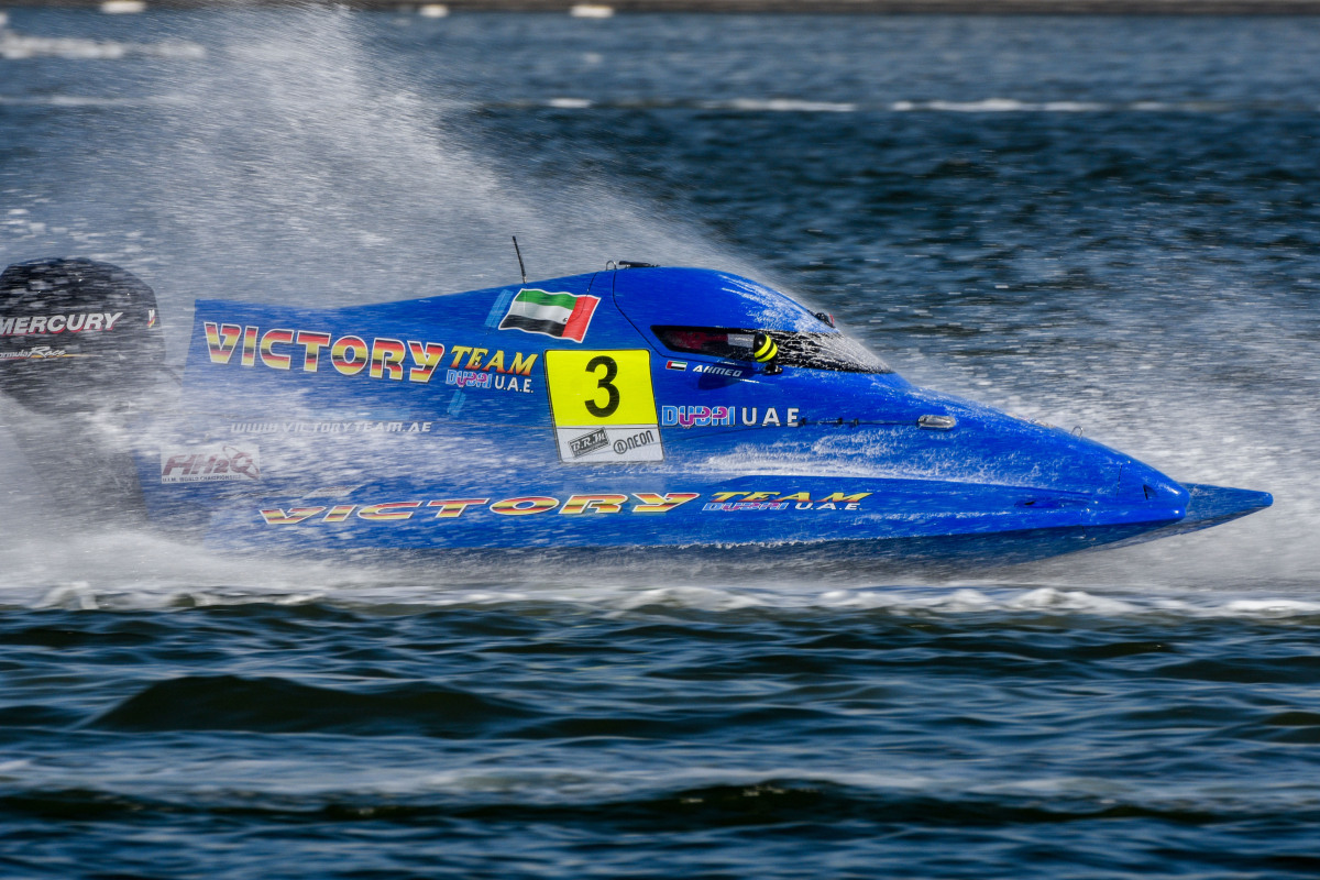 F1H2O UIM World Championship: AL FAHIM SETS PACE IN F4